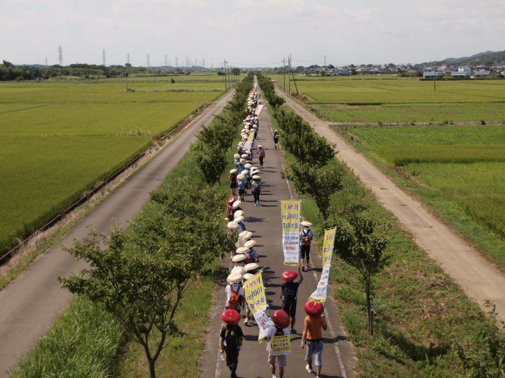 第7回常総100km徒歩の旅2013